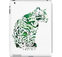 The forest ocelot iPad Case/Skin