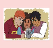 The Golden Trio share a hot cocoa Kids Tee