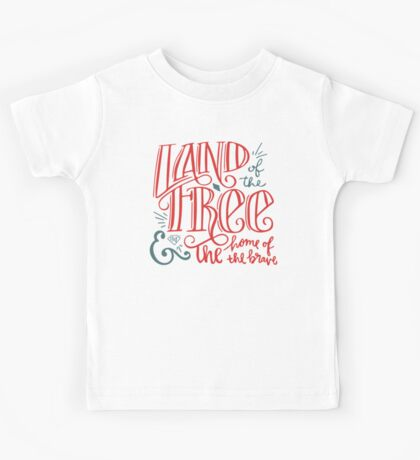 Land of the Free Kids Tee