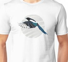 A Beautiful British Magpie Unisex T-Shirt