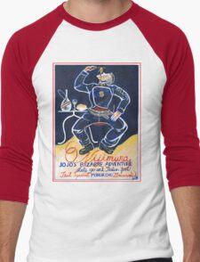 Let's Go Eat Italian Food! Men's Baseball ¾ T-Shirt
