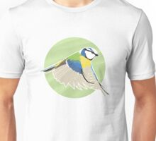 Beautiful British Blue Bird Unisex T-Shirt