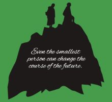 Lord of the Rings, Fellowship of the Rings Baby Tee