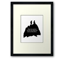 Lord of the Rings, Fellowship of the Rings Framed Print