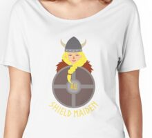 Shield maiden customised 2 Women's Relaxed Fit T-Shirt