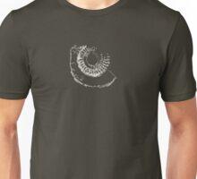 Ammonite fossil Unisex T-Shirt
