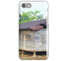 Shanty in the Rain Forest iPhone Case/Skin
