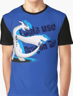 Lugia use Dragon Tail Graphic T-Shirt