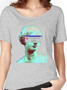 Vaporwave Blinded Women's Relaxed Fit T-Shirt