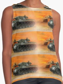 Military Contrast Tank