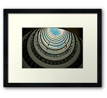 Sky Dome Framed Print