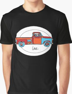 Love My Old Truck Graphic T-Shirt