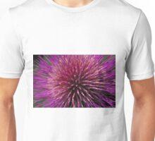 Fabulous cardoon flower closeup Unisex T-Shirt