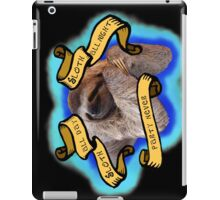 Sloth All The Time iPad Case/Skin