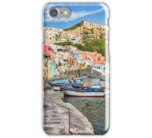 Picturesque marina in Italy. iPhone Case/Skin