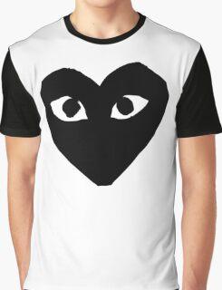 CDG Black Graphic T-Shirt