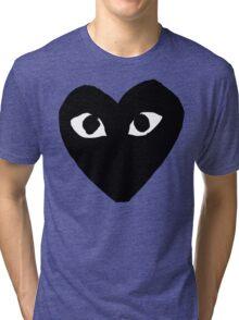 CDG Black Tri-blend T-Shirt