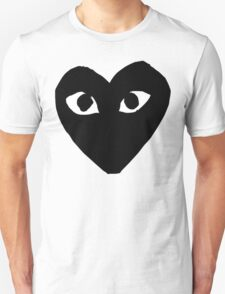 CDG Black Unisex T-Shirt