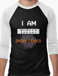 I Am DigiDestined Men's Baseball ¾ T-Shirt