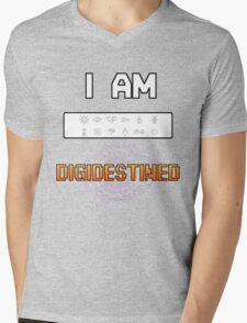 I Am DigiDestined Mens V-Neck T-Shirt