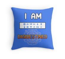 I Am DigiDestined Throw Pillow