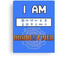 I Am DigiDestined Canvas Print