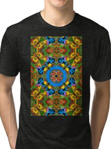 Abstract Balance of Color Tri-blend T-Shirt
