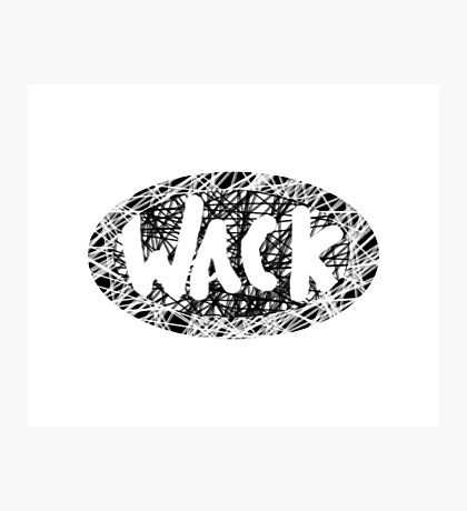 Wack Photographic Print