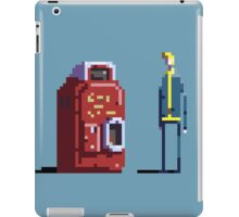 Vault boy and Nuka-Cola vending machine iPad Case/Skin