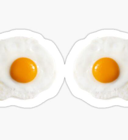 Egg Boobs Sticker