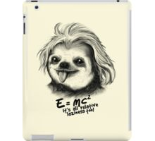 Sloth Einstein iPad Case/Skin