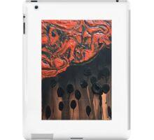 Orange Untitled iPad Case/Skin