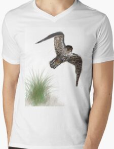 A Hobby flashes by Mens V-Neck T-Shirt