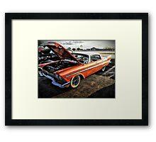 1957 Chrysler Sedan Framed Print