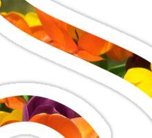Floral S Sticker