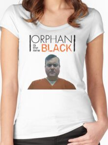 Donnie Hendrix, Orphan Is The New Black | Orphan Black x Orange is the new black Women's Fitted Scoop T-Shirt