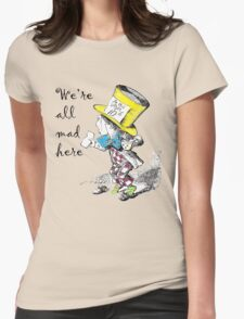 Mad Hatter Tea Party  Womens Fitted T-Shirt