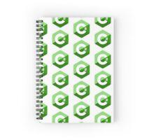c sharp green lenguage programming c# Spiral Notebook