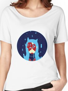 Mask Girl Women's Relaxed Fit T-Shirt