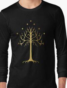 golden tree of Gondor Long Sleeve T-Shirt