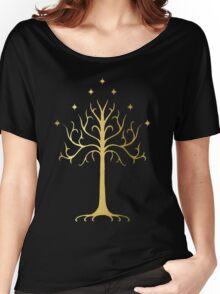 golden tree of Gondor Women's Relaxed Fit T-Shirt