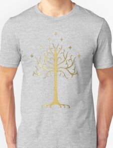 golden tree of Gondor Unisex T-Shirt