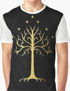 golden tree of Gondor Graphic T-Shirt