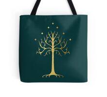 golden tree of Gondor Tote Bag