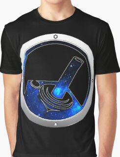 DarkHoleGames YouTube Official Space Logo Graphic T-Shirt