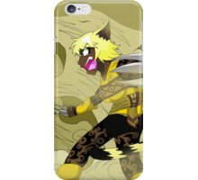 Raiden Legacy - Desert Tiger (Action) iPhone Case/Skin