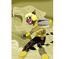 Raiden Legacy - Desert Tiger (Action) Photographic Print