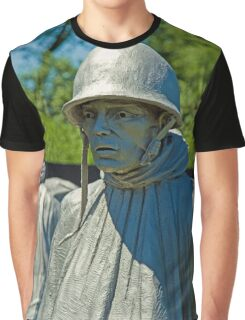 Korean War Memorial Graphic T-Shirt
