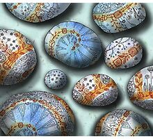blue rocks  Photographic Print