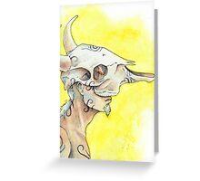 Bone Dancer Greeting Card